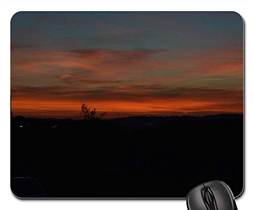 Mouse Pads - Sunset Plymouth England Countryside City