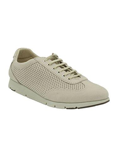 Forato Donna FX Beige Sneakers FRAU Scarpe 51E7 Blu Navy Lacci Pelle nabuk 8FHxd