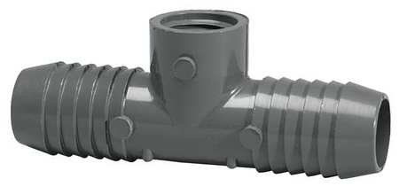 (1-1/2 Inch Insert X 1/2 Inch Fnpt Pvc Adapter Reducing Tee)