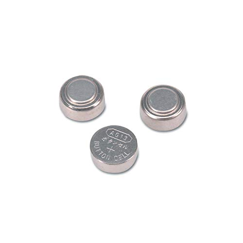 Darice Pack of 12 Lithium Button Cell AG13 Replacement Batteries - 3 Volts (Sc Fast Charger For Nicd Nimh Batteries Vapextech)
