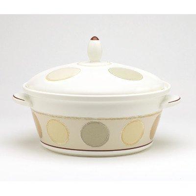 - Noritake Mocha Java 67-Ounce Covered Vegetable Bowl