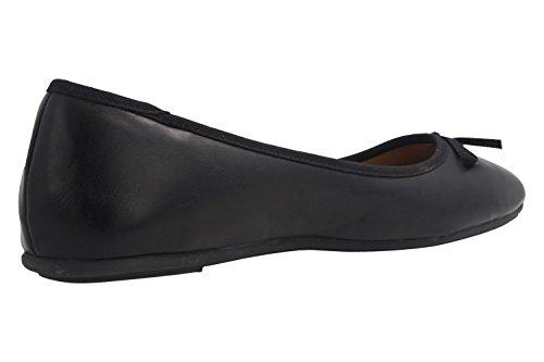 donna Ballerine Fitters nero nero Footwear 6pXwwqP