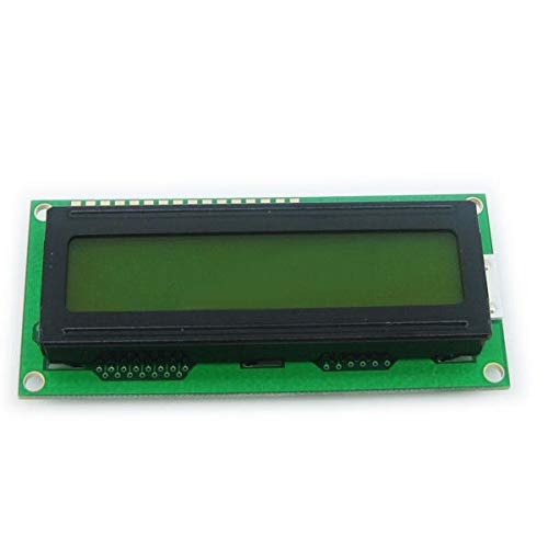 2Pcs Yellow Backlight 1602 Character LCD Display Module by Anddoa (Image #1)