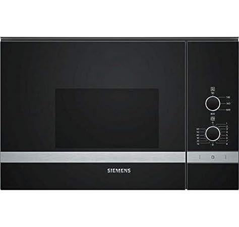 Siemens 2500047133 microondas integrable, negro 45x40x70cm: 178.79: Amazon.es: Hogar