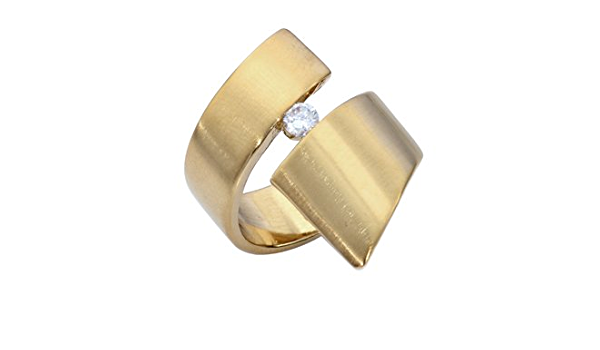 Toolbox Ring Sterling Silver + Gold Plated Mixed Metals Statement Ring