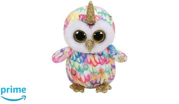 Alaska Stuffed Animals, 6 Enchanted The Owl With Horned Stuffed Plush Animals Ty Beanie Boo S Beanbag Plush Ty