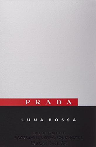 Prada Luna Rossa Eau de Toilette Spray for Men, 3.4 Ounce (Packaging may vary) by Prada (Image #2)