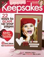 Creating Keepsakes Magazine February 2007 (Volume 12, Issue 2)