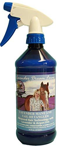 Mane & Tail Detangler- with pure Lavender Oil