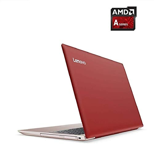 Lenovo Ideapad 330 15.6″ Anti Glared HD Premium Business Laptop (AMD A9-9425 up to 3.7 GHz, 8GB DDR4 Memory, 256GB SSD, AMD Radeon R5 Graphic, DVD-RW, HDMI, Windows 10 Home) – Red