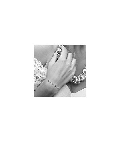 Tatuaje efímero Mujer Diseño Love, Smile, Happy.: Amazon.es: Belleza