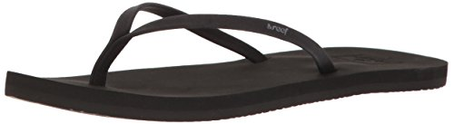 Reef Women's Bliss Nights Flip-Flop, Black, 7 M - Womens Reef Ginger