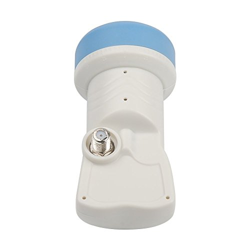 SaferCCTV(TM) Universal LNB Ku Band Full HD Single- Best Performance with High Gain & Low Noise