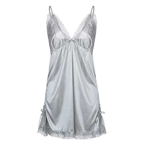 Amazon.com: Hot New Women Sexy Plus Size Contrast Lace Slips with Thong Nightdress Bowknot Lingerie: Clothing