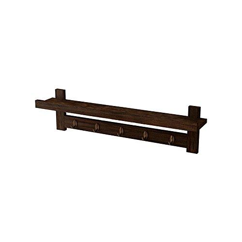 GYP Perchero retro, percha de madera sólida Gancho para la ...