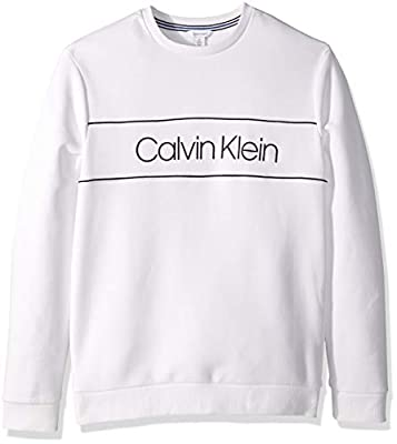 Calvin Klein Men's The Soft-Touch Fleece Sweatshirt,