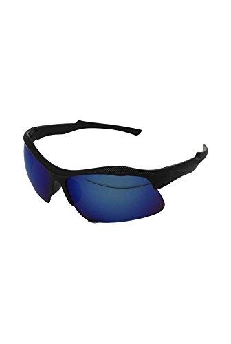 Lunettes Finecy soleil taille unique de Lens Black Homme Blue Mirrored In with Frame qOqrwxX5