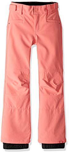- Roxy Little Creek Girl Snow Pant, Shell Pink, 16/XXL
