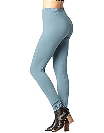 44df86ed41 Conceited Premium Ultra Soft High Waisted Leggings for Women - Regular and  Plus Size - Many
