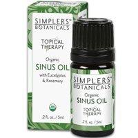 Sinus Oil Simplers Botanicals 5 ml Liquid by Simplers Botanicals