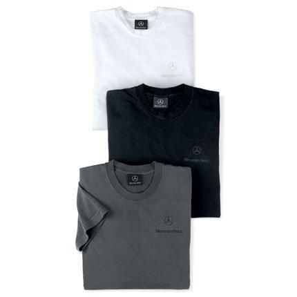 Mercedes Benz Men's Classic Tee Shirt - CHARCOAL - MEDIUM