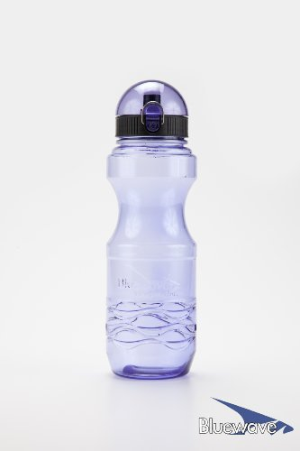 Bluewave Lifestyle Bullet BPA Free Sports Water Bottle, Iris Purple, 0.6 L (20 oz) by Bluewave Lifestyle®