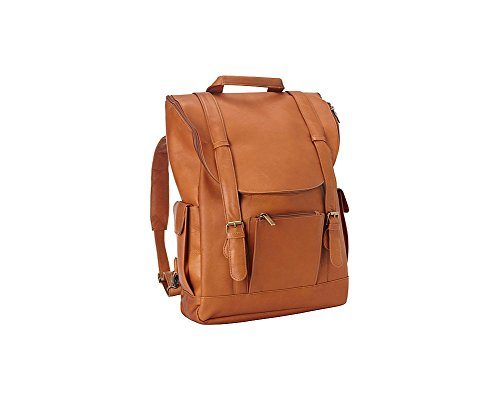 Tan Leather Backpack - 9