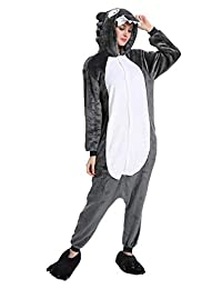 Yusongirl Adult Animal Pajamas Cosplay Costume Onesies Sleepwear Unisex (No  Shoes) 1d30f453c