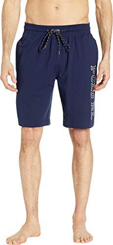 - Polo Ralph Lauren Men's Jersey Sleep Shorts Cruise Navy/Nevis Polo Rl Small
