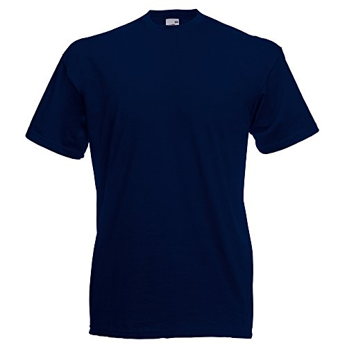 Fruit Blu Tee Navy Loom The Scuro Valueweight Of fSqrBf