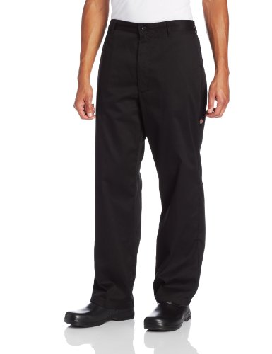 Dickies Men's The Professional Chef Pant, Black, Small by Dickies