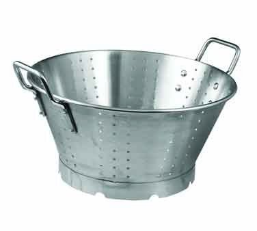 Winco FBA_SLO SLO-11 Stainless Steel Premium Colander with Base, 11-Quart, Medium by Winco
