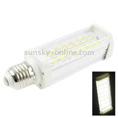 Lamp E27 11W 900LM LED Transverse Light Bulb, 28 LED SMD 5630, White Light, AC 85-265V (Color : Color1)