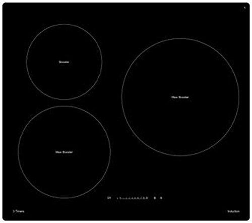 Sogelux - Mesa de horno inducción Sogelux psi395 N negra ...