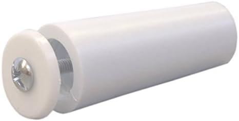 Sysfix Tope para persiana TP 55 Blanco (Caja de 12 Unidades con Tornillo y arandela), 5.5x2.4x2.4 cm: Amazon.es: Hogar