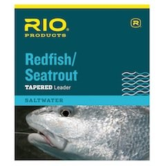 Rio Redfish/Seatrout Leader 9ft 25lb, 3 Pack