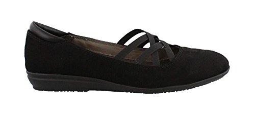 Women's Eurosoft, Sabin Slip On Flats Black 8 M (Sofft Shoes Flats)