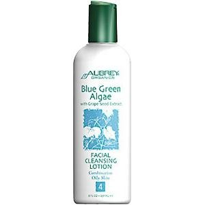 Aubrey Organics - Blue eco-friendly Algae Facial Cleansing Lotion, 8 fl oz lotion