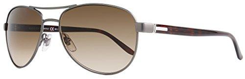 Gucci GG2236/S Sunglasses-0W09 Dark Ruthenium (JD Brown Gradient Lens)-58mm