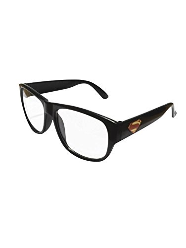 Clark Kent Glasses (Rubie's Costume Boys DC Comics Clark Kent Glasses Costume, One Size)