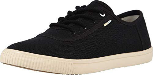 - TOMS Black Heritage Canvas Women's Carmel Sneakers Topanga Collection 10013424 (Size: 6.5)