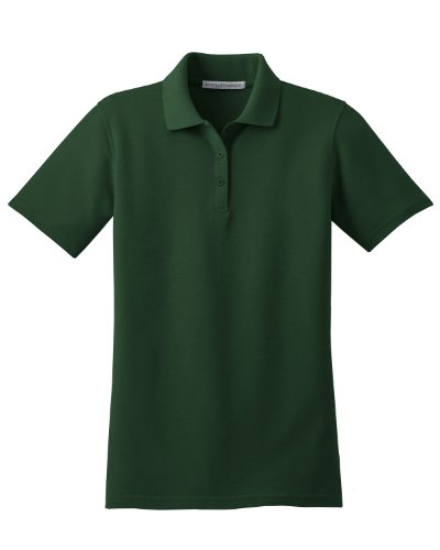 Port Authority Ladies Stain-Resistant Sport Shirt - Dark Green L510 XL