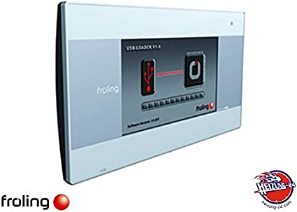 Fröling 68313 RGB 3200 Touch - Regulador de ambientes
