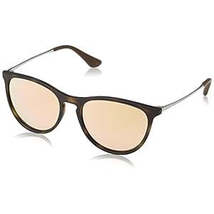 Ray-Ban Junior Women's 0RJ9060S Round Sunglasses, Havana Rubber, 50 mm