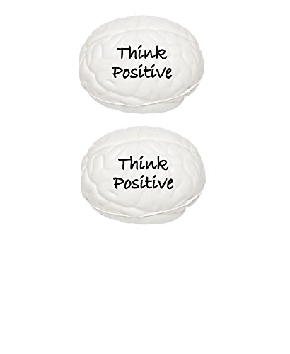 Stress Relief Toys Stress Balls by Feel Good Goods- Think Positive- Squeezing Stress Relief Balls- For Kids & Adults- Hand Therapy Stress Relief Positive - Quiz Of Girl Type Your What's