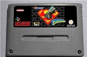 of Superman - Action Game Card EUR Version - Sega Genesis Collection ,classics ,Games For NES for Genesis ()
