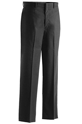 Edwards Garment Men's Lightweight Flat Front Dress Pant Lightweight Wool Dress Pant