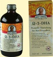 Udo Omega-3-DHA-Öl 250 ml - 3 Stück