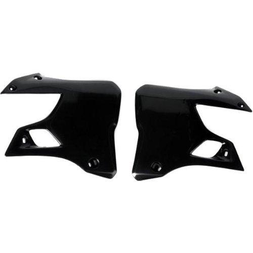 (UFO Plastics Radiator Cover Black for Suzuki RM 65 DR-Z110)