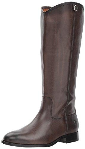 Frye Women's Calf Extended Calf Smoke 2 Riding Boot Button Extended Melissa PPwd7qrX